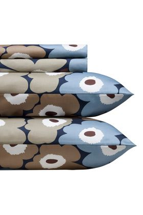 Pieni Unikko dusk full sheet set by Marimekko