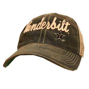 e01f61e2e27 Legacy Vanderbilt Commodores Script Trucker Adjustable Hat (Black ...