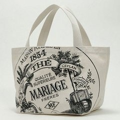 Mariage Freres tote from Japanese e-mook