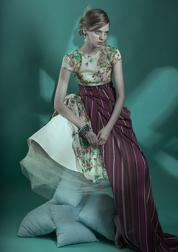 Editorial For DewMagazine by evgeniya boyarskaya, via Behance