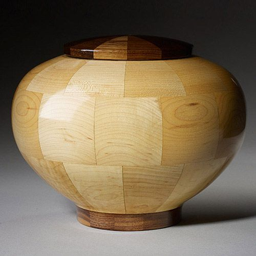 100 of the World's Most Beautiful Wood Cremation Urns