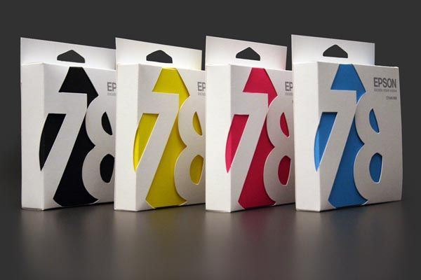 Epson ink cartridge Packaging Design Concept by Ali Prater
