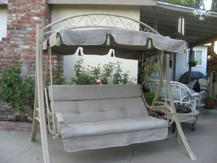 Patio Glider With Canopy