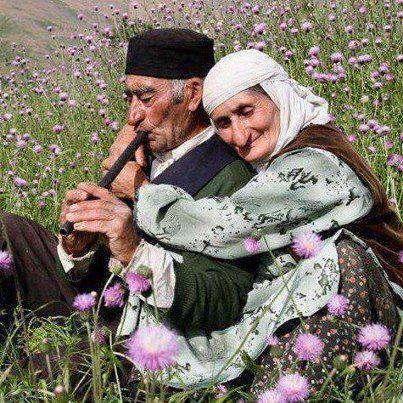 altes ehepaar, anatolien, türkei (foto: orhan genel)