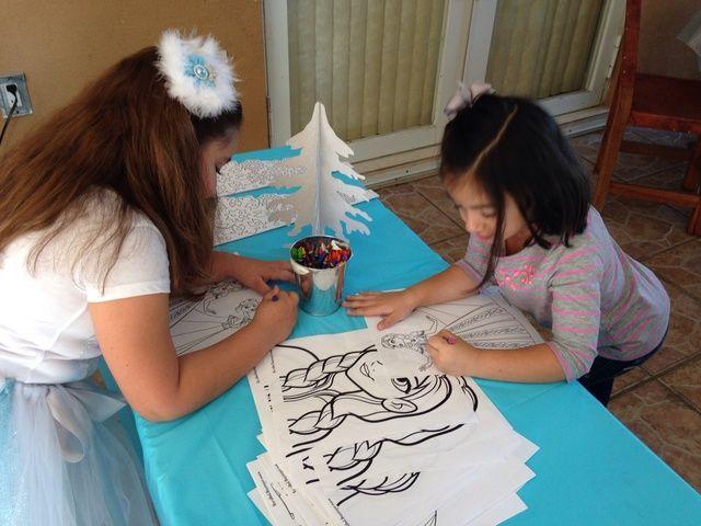 Disney Frozen Birthday Party Ideas | Photo 13 of 17 | Catch My Party