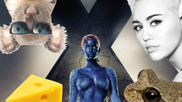 Feel Good Friday: X-Men, Bondage, Food Facts and Scary Animals