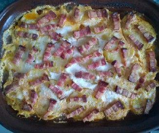 Egy finom Baconös-juhtúrós-paradicsomos csirke ebédre vagy vacsorára? Baconös-juhtúrós-paradicsomos csirke Receptek a Mindmegette.hu Recept gyűjteményében!
