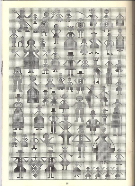 Knitting Patterns Motifs Charts : 818 best images about Cross Stitch on Pinterest