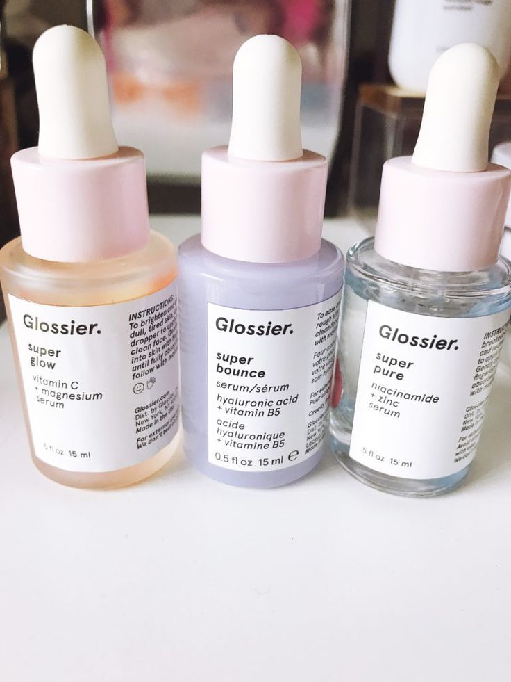 All the Glossier products I've tried, ranked! Glossier skincare and makeup