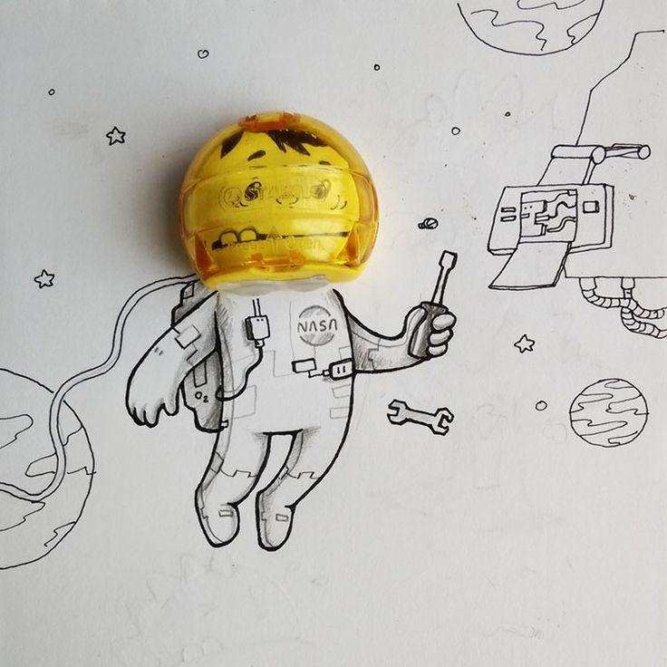 adorables-caricaturas-interactuan-objetos-reales_007
