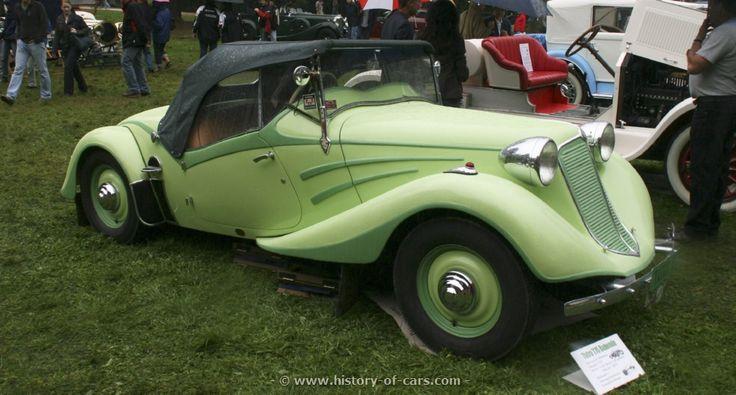 Tatra 75 convertible body by Bohemia 1935, Czechoslovakia (since 1993: Czech Republic)