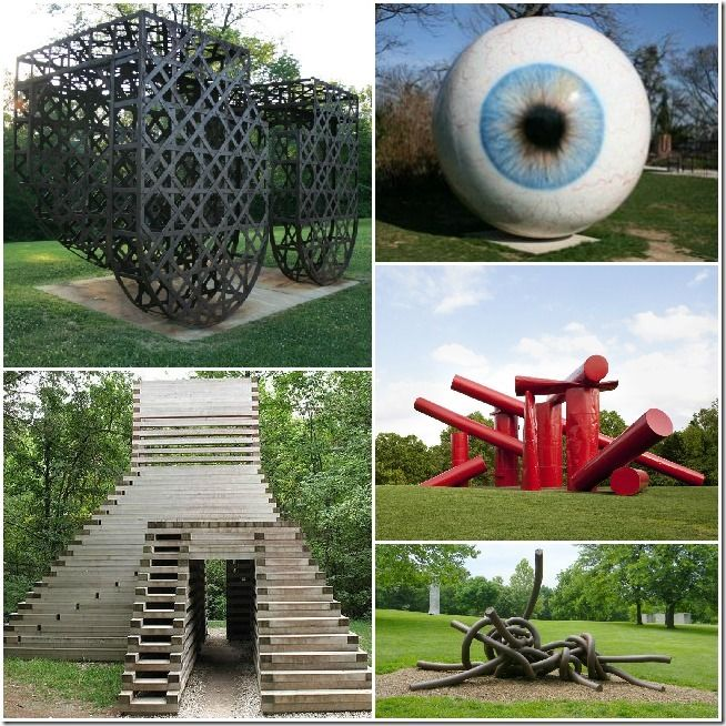 Laumiere sculpture park - outside and awesome