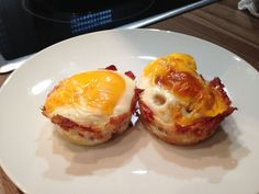 Rezept für gelungene Eier-Muffins mit Bacon. Rezepte für 10 Weeks Body Change Teilnehmer. Gut in den Tag starten mit einem leckerem Body Change Frühstück.