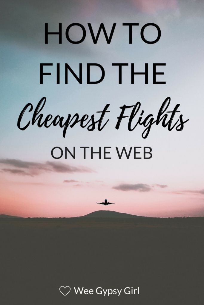 My Secret to Finding the Cheapest Flights on the Web