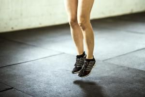 Plyometrics ... jumping builds bone density.