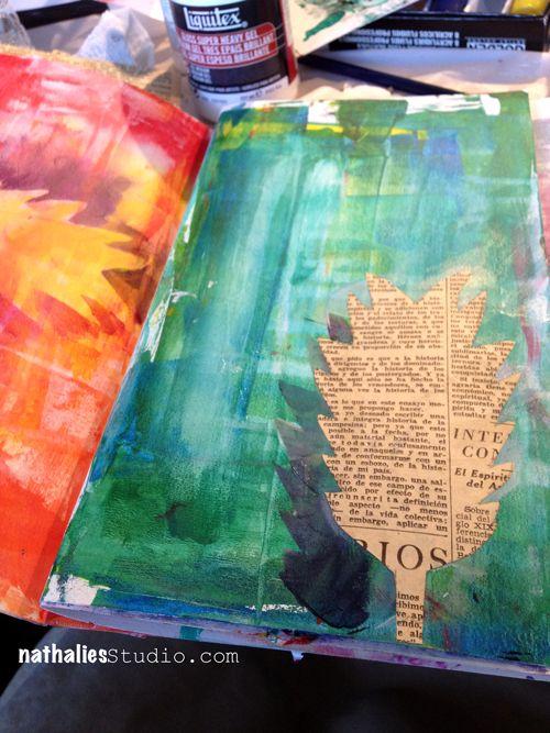 art journal - Nathalie Kalbach