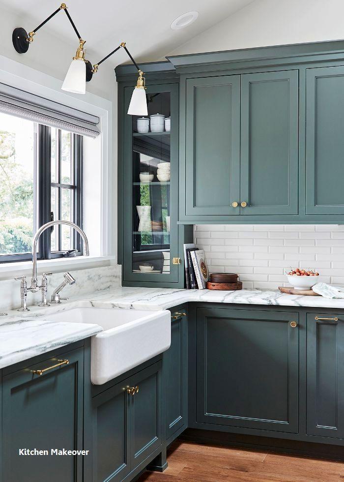 Home Interior Traditional New Kitchen Makeover Ideas Kitchenmakeover Diykitchen Home Interior Tra Interior Design Kitchen Kitchen Color Trends Kitchen Design