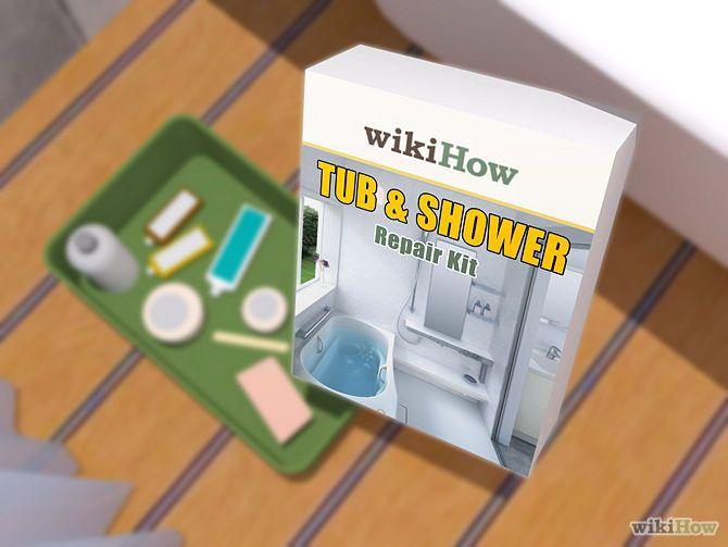 Kit Para Reparar Tinas De Baño:Shower Tub Fiberglass Repair Kit