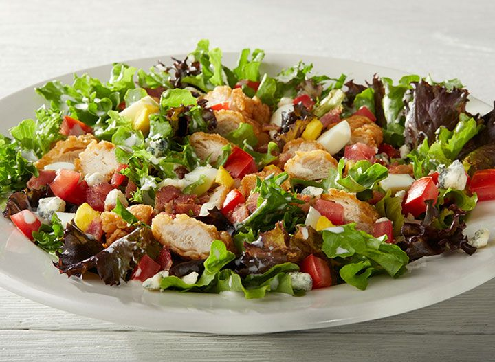 25 Unhealthiest Calorie Packed Restaurant Salads Eat This Not That Fast Food Salads Healthy Salad