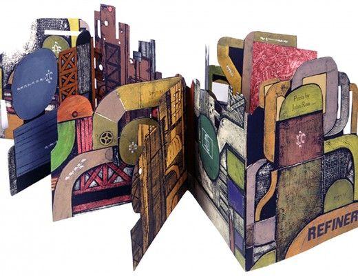 John Ross's 3-d book -- Refinery