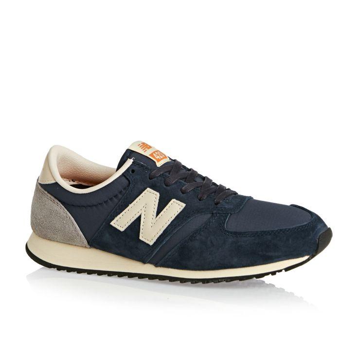 New Balance U420 D Shoes - Navy Grey