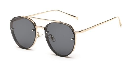 Peekaboo Newest yellow green pink ocean sunglasses women fashion summer style steam punk metal sun glasses men uv400 lentes de