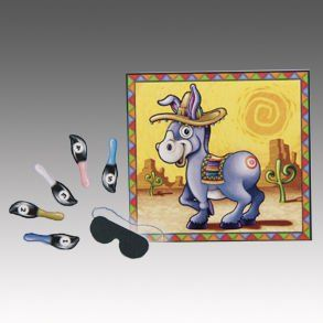 Fiesta Pin The Tail Donkey Game