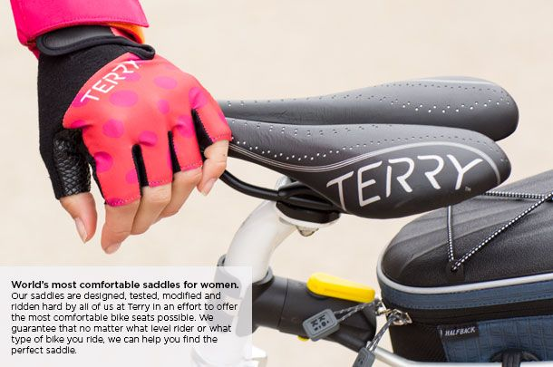 Women's Bicycle Saddles, Bike Seats for Women | Terry Bicycles