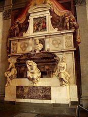 Giorgio Vasari -  Tomb of Michelangelo  - Wikipedia, the free encyclopedia