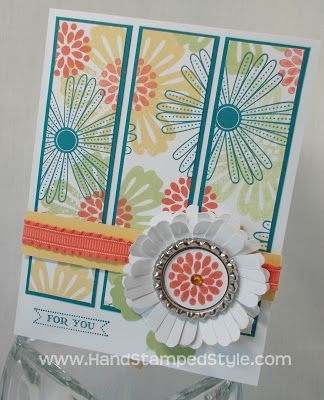 Hand Stamped Style: Betsy's Blossom & Mixed Bunches Inspired Cards