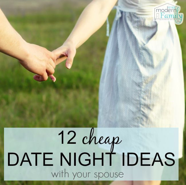 Ideas for dating your wife