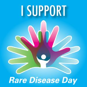 Rare Disease Day is here!  Celebrate on the last day of February - the rarest day on the calender - this is the one day every year when teh world comes together to improve teh lives of people living with rare diseases.