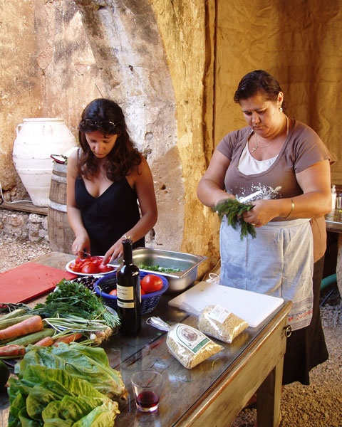 Vamos, Crete - Greek cooking classes