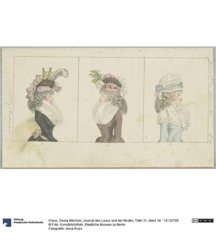 SMB-digital | Journal des Luxus und der Moden, Tafel 31, November 1793.