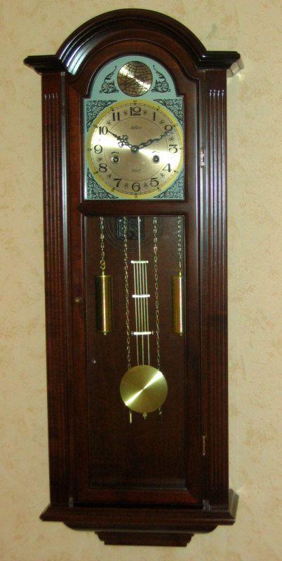 Duży zegar szafkowy do salonu Adler 11070