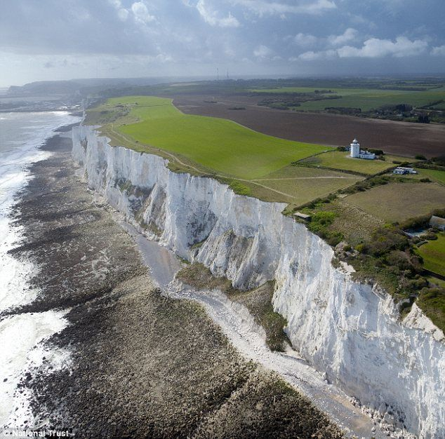 National Trust spends £1.2m to let public access 'iconic' part of Dover's White…