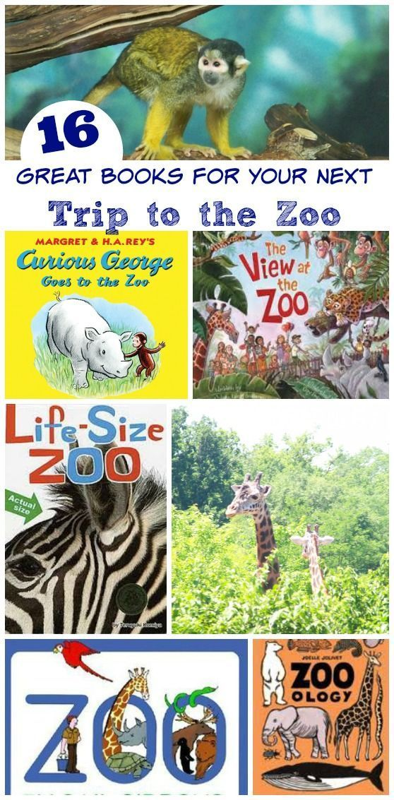 Wonderful kids books about zoo animals -- great to read before or after a zoo visit!