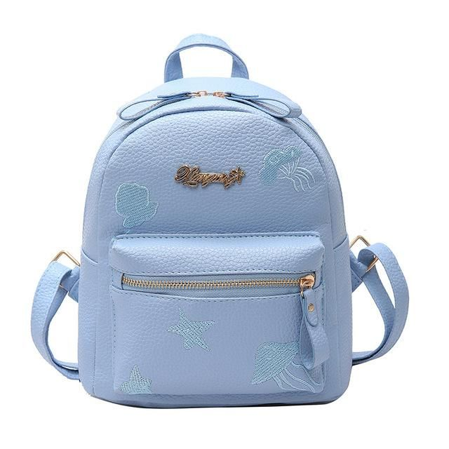 55bb43ed4ef4 Mara s Dream 2018 Fashion Women Backpack Youth PU Leather Backpacks For Teenage  Girls Female School Shoulder