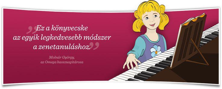 Eperhajó - játékos zongoratanulás 4-12 éves gyermekeknek Nagyon aranyos!!!