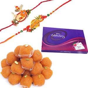 Send Raksha Bandhan Gifts and flowers online to your siblings in Bangalore. Here at BangaloreCakes we provide delivery of Rakhi Hampers, Rakhi Gifts and Rakhi Flowers to any location in Bangalore. Contact us: +91-8288024442