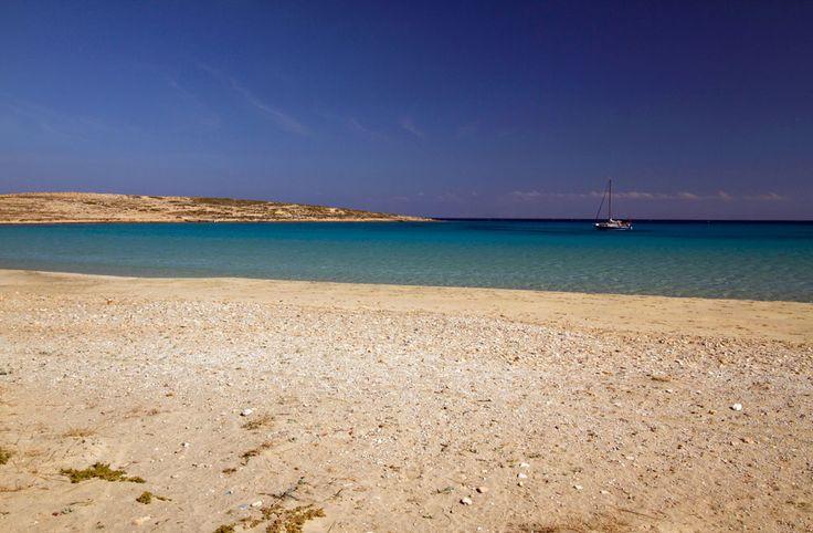 The bay of Pori in Koufonisi