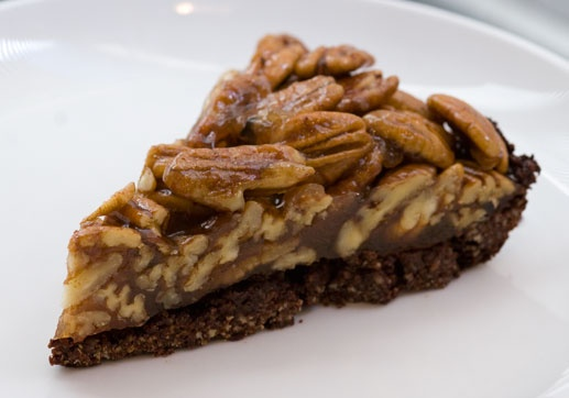 Pecan Pie with Chocolate Crust. | Staying Fit & Healthy | Pinterest