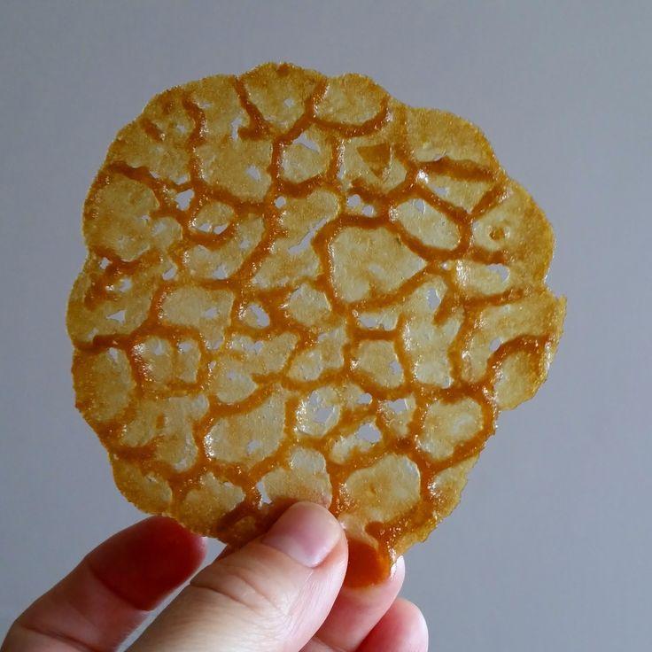 Pınar's Desserts: Lace Cookies - Dantel Kurabiye
