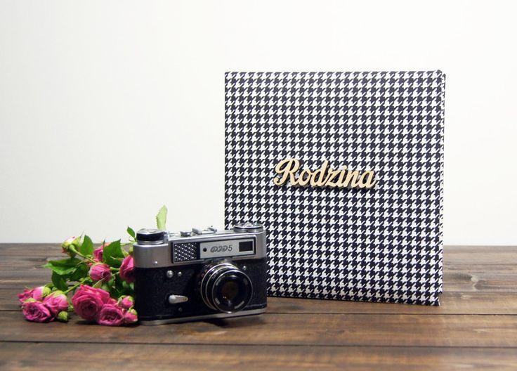Album Rodzina w pepitkę 30 kr str 24x24 - Plans-And-Memories - Albumy na zdjęcia wklejane