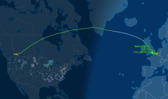 BA flight from Calgary to London Heathrow declared emergency mid-air #news #world