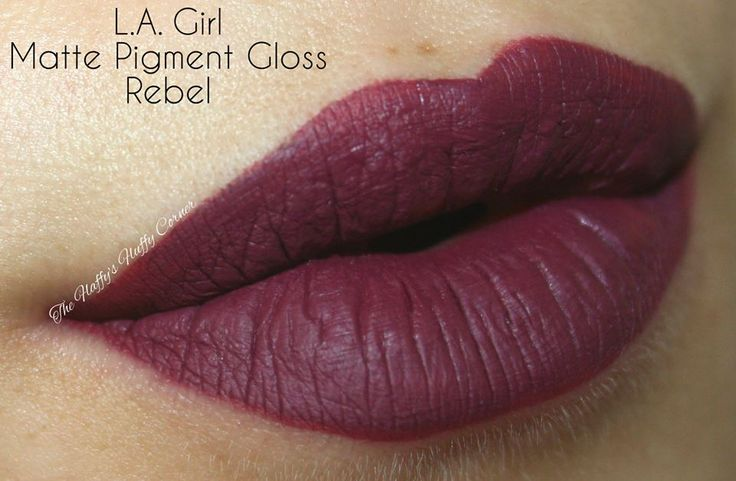 L.A. Girl Cosmetics Matte Pigment Gloss in Rebel