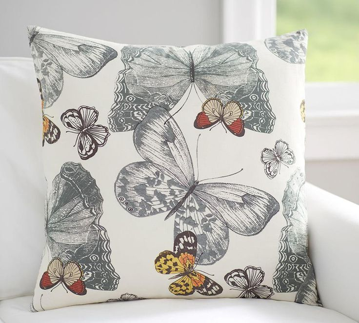 Mariposa Print Cushion Cover