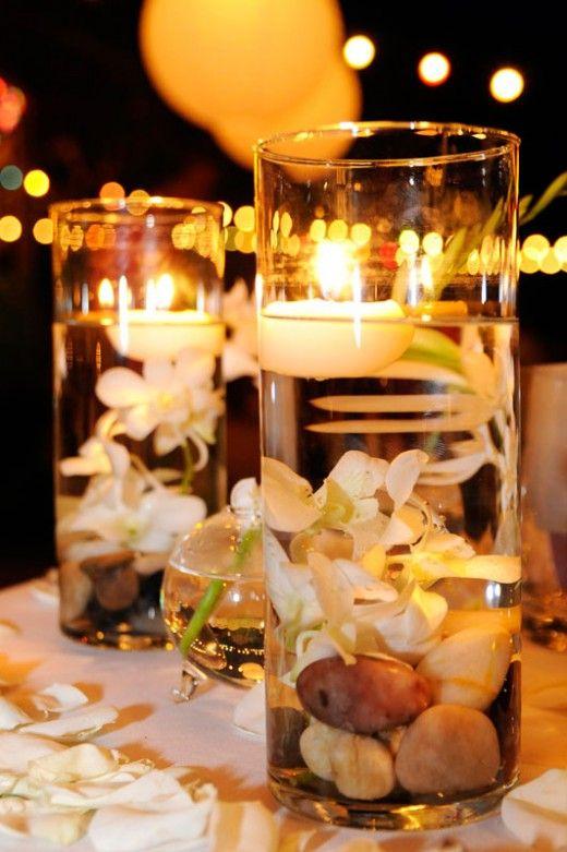Decoração de casamento à noite ao ar livre 2013