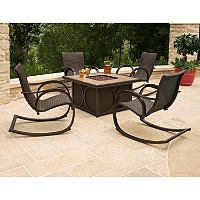 Captivating Memberu0027s Mark® Copa 5 Piece Fire Pit Chat Set, Original Price $999.00