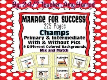 Manage classroom behavior using these charts and posters. Editable to fit your needs! Polkadot backgrounds! 9 Colors: Purple, pink, blue, orange, brown, black, green, yellow and red. Mix and MatchEvery page is in every color so you are not limited to my color coding system for the clip chart. 225 Pages because each sheet is pdfed into every color!